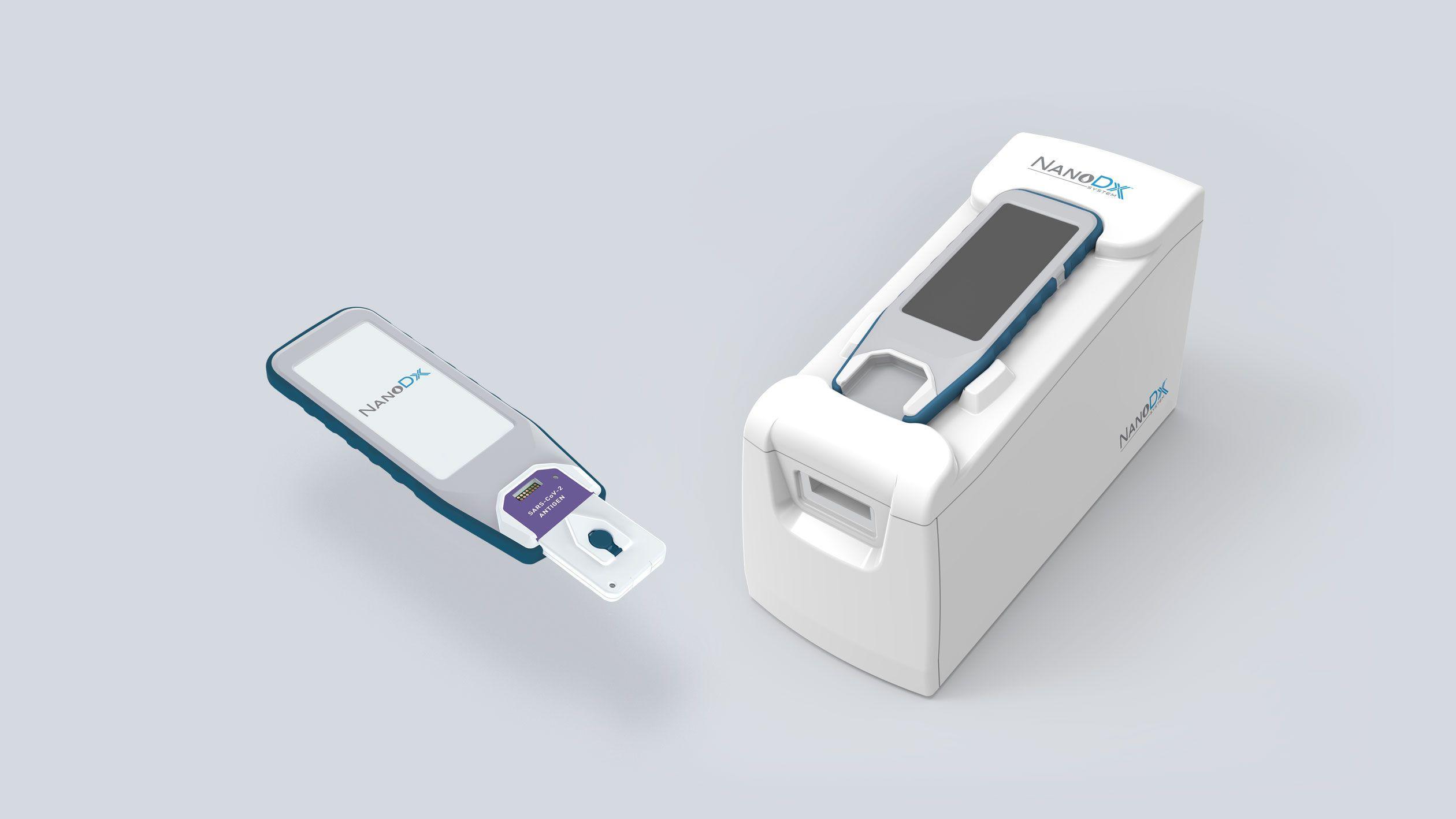 NanoDx handheld Covid-19 cartidge