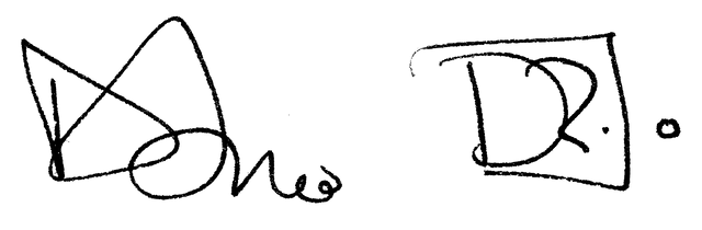 Dario Gil's signature