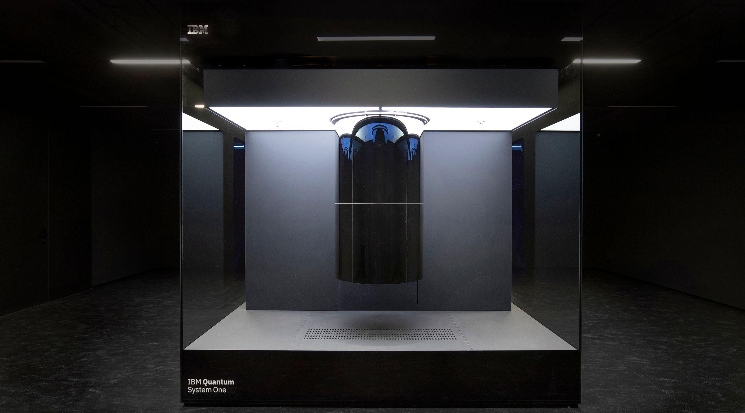 IBM Quantum System One installed at Fraunhofer Institute